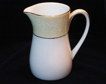 Vintage Noritake Creamer Annulaire Pattern 6689 1960's