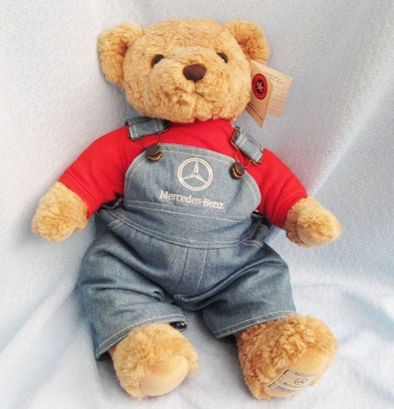 mercedes benz edition herrington teddy bear
