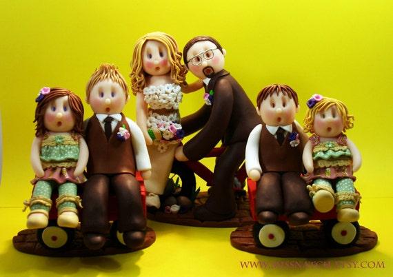 DEPOSIT - Family Wedding Cake Topper