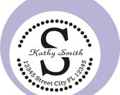 Personalized Self ink Custom Made Return Address Rubber Stamp great gift