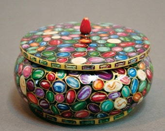 Painted Jewels Design Box