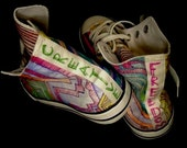 SALE-Hand painted shoes-Creative freedom