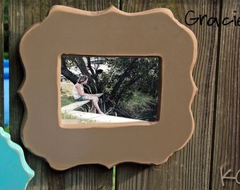 5x7 Distressed chunky frame FrEe ShIpPiNg to USA