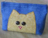 Cat Face makeup camera travel bag