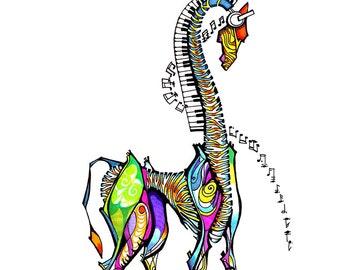 iGiraffe -  Print