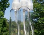 2 oz Plastic PET Bottles with Sprayer -- set of 3