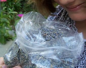 Organic Lavender Buds one-half ounce bag
