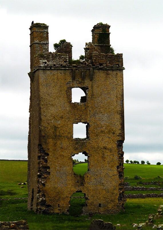 Ireland- Castle Ruins II- fine art print, fine art photography, castle photography, Ireland photography, wall art, home decor, office decor