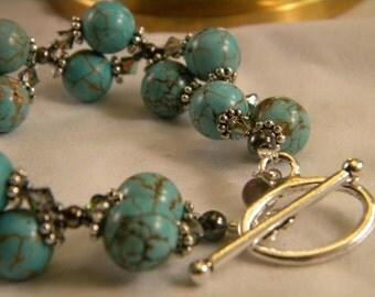 Chunky Turquoise Braceletl