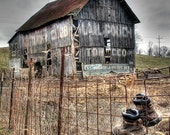 barn, Mail Pouch chewing tobacco, Photography, rural landscape, farm, rustic, signs, ads,other sizes available