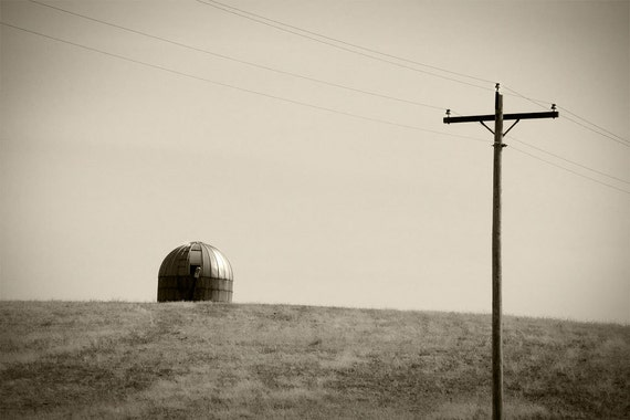 rural landscape, farm, sepia tone Fine Art Photography