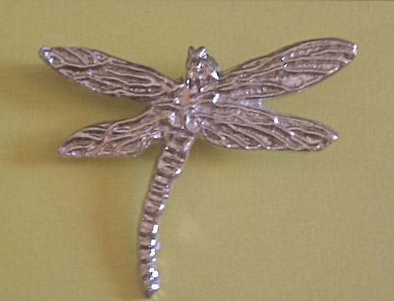 Pewter Dragonfly Pin