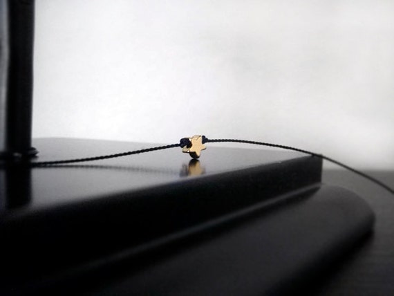 Gold Star Wish Bracelet - Friendship Bracelet, Charm Bracelet, Gifts Under 20 Dollars