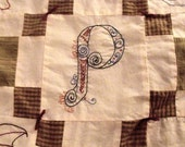 Custom Embroidered Quilting Squares