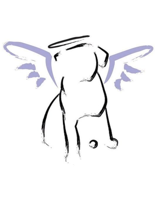 dog angel clipart - photo #16
