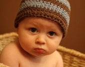 Baby Boy Crochet Cotton Beanie Hat