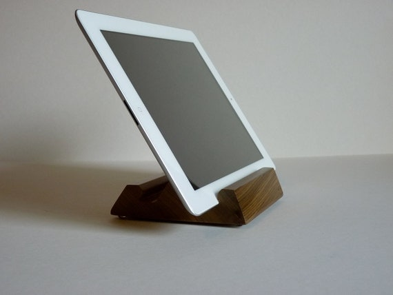 Sinker Cypress iPad Stand Reclaimed Recycled Wood