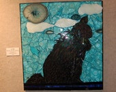 OOAK Lil'bit Cat Mosaic for your pet