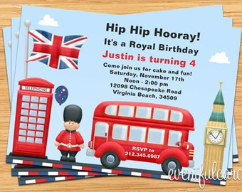 Carte Anniversaire Londres.Carte Invitation Anniversaire Londres Nanaryuliaortega News
