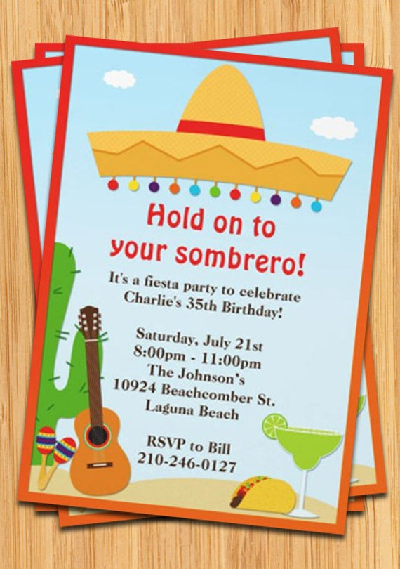 Mexican Party Invitations absolutely amazing ideas for your invitation example