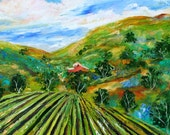 Commission your own custom original oil landscape painting by Karen Tarlton
