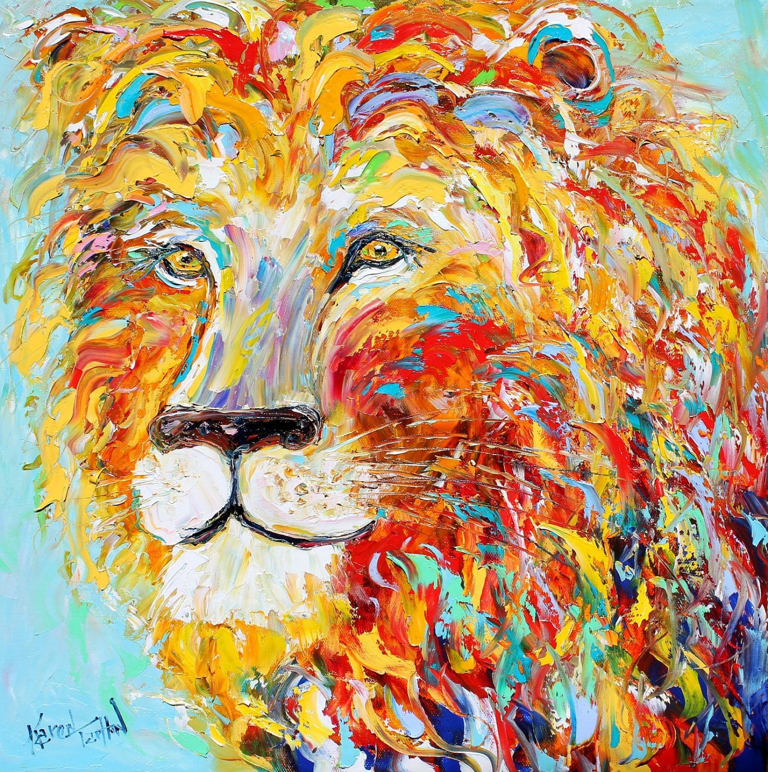 Gallery For gt Abstract Animal Painting