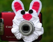 custom MINI Bunny Rabbit Lens Pet for your point & shoot camera