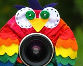 custom Limited Edition TIE DYE OWL Lens Pet for your camera