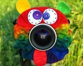 Ready to Ship -- Limited Edition Tie Dye CRAZY FACE Lens Pet for your camera