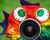 custom Limited Edition Tie Dye FISH Lens Pet for your camera