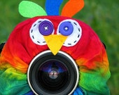 custom Limited Edition Tie Dye PARROT Lens Pet for your camera