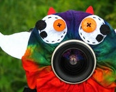 custom Limited Edition Tie Dye WINGED MONSTER Lens Pet for your camera