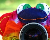 Ready to Ship -- Limited Edition Tie Dye MONKEY Lens Pet for your camera
