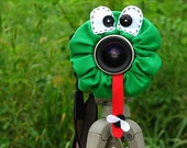 custom large FROG Lens Pet for your camera