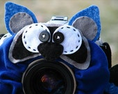 custom large RACCOON Lens Pet for your camera