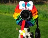 custom Limited Edition TIE DYE FROG Lens Pet for your camera
