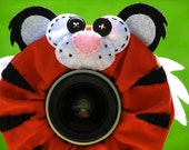 custom large TIGER Lens Pet for your camera