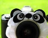 Ready to Ship -- standard PANDA BEAR Lens Pet for your camera