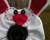 custom large BUNNY RABBIT Lens Pet for your camera
