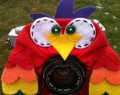 custom large OWL Lens Pet for your camera