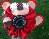 custom large SQUIRREL Lens Pet for your camera