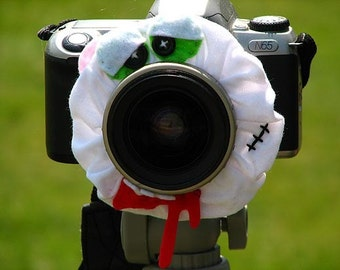 custom Halloween ZOMBIE Lens Pet for your camera
