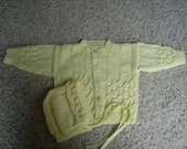 Buttercup Baby Sweater Set