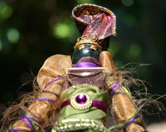 Ryanne, Garden Sprite - elemental spirit art doll