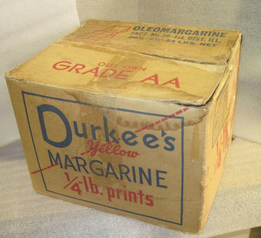 Vintage Durkee Foods Colored Oleomargarine By Bandcemporium