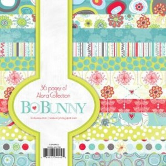 Bo Bunny 6x6 Pad Alora-Save 15%