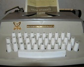 Vintage Typewriter by Sears for Young Students