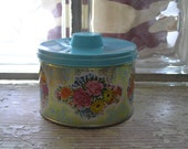 Vintage Mrs. LeLand Old Fashioned Tin