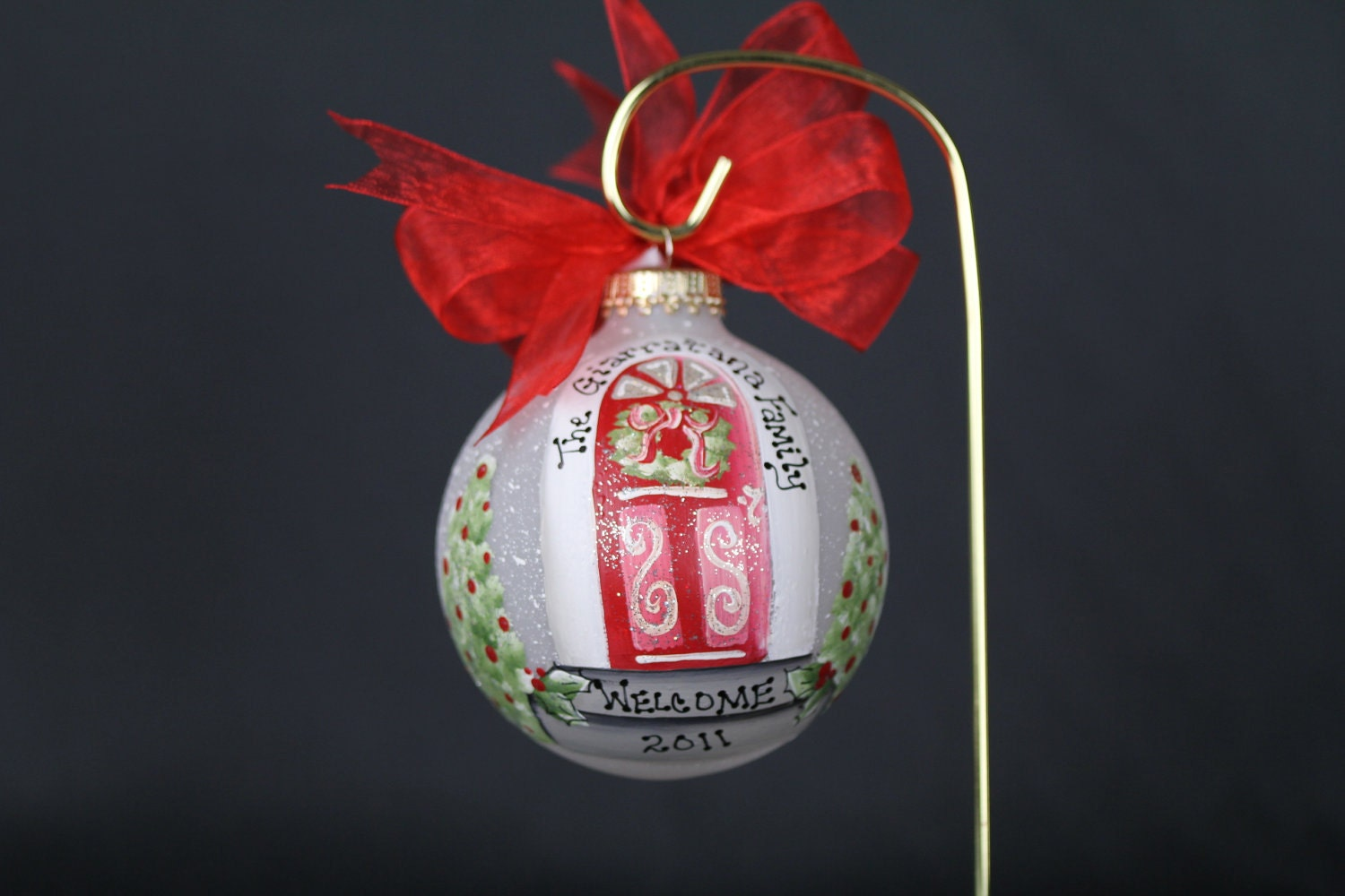 New home ornaments personalized -  New Home Christmas Ornament Personalized Free Zoom