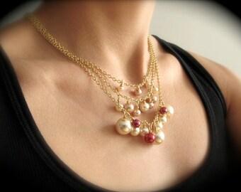 Bridesmaid Necklace Set
